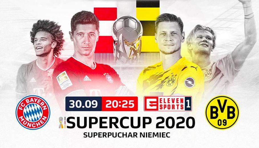 Superpuchar Niemiec 2020. Bayern vs Dortmund już30.09.2020 - transmisja TV i stream